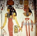 Egypt Isis and Nefetari