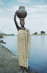 Nuer woman, Southern Sudan
