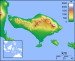 topography map