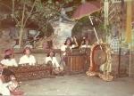 Bali gamelon practice