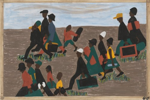 The Great Migration by Lawrence Jacob