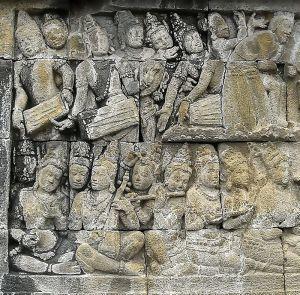 Borobudur musicians