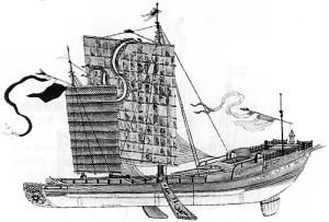 Chinese ship 13th century