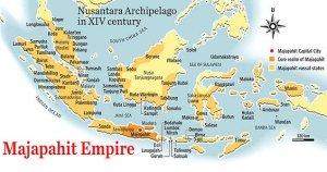 majapahit-empire-map