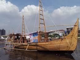 Model of a Majapahit ship